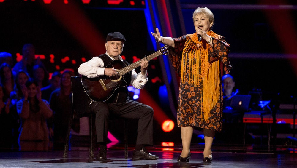 Loli Moreno canta 'Payaso' en las Audiciones a ciegas de 'La Voz Senior'