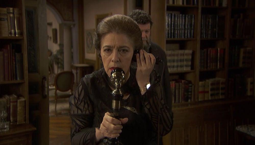 Doña Francisca, cerca de descubrir quién puso la bomba