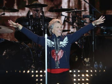 Bon Jovi durante un concierto