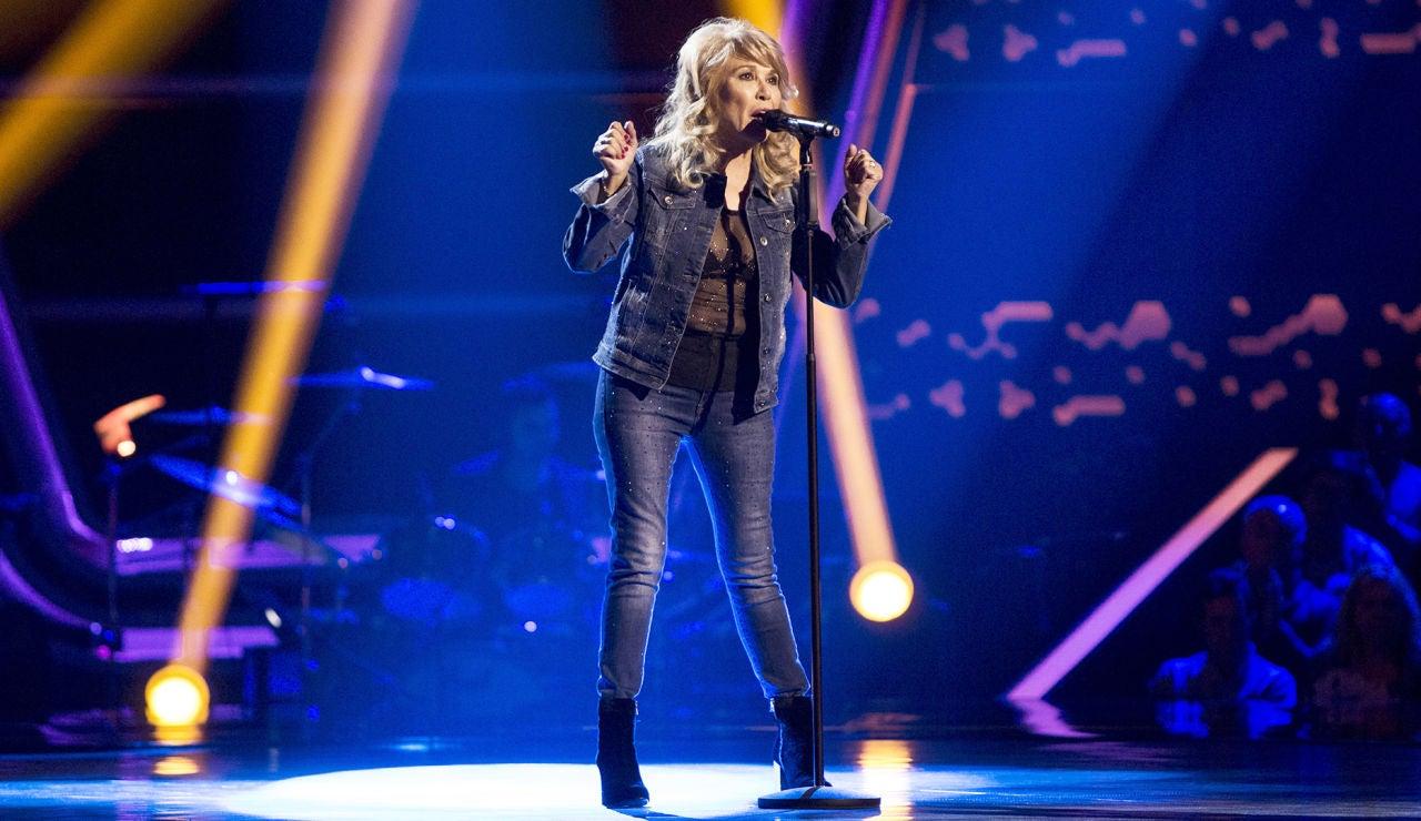 Helena Bianco canta 'Una estrella en mi jardín' en las Audiciones a ciegas de 'La Voz Senior'