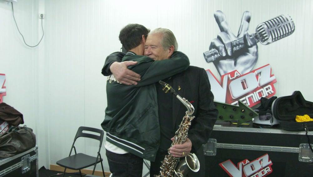 Las lágrimas de José María Sepúlveda, vocal coach de 'La Voz Senior', escuchando a Juan Mena