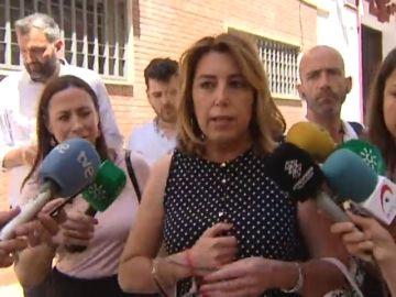 Susana Díaz desmiente que Pedro Sánchez le haya ofrecido ser ministra