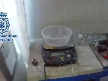 Desarticulan un laboratorio de cocaína en Madrid y Toledo