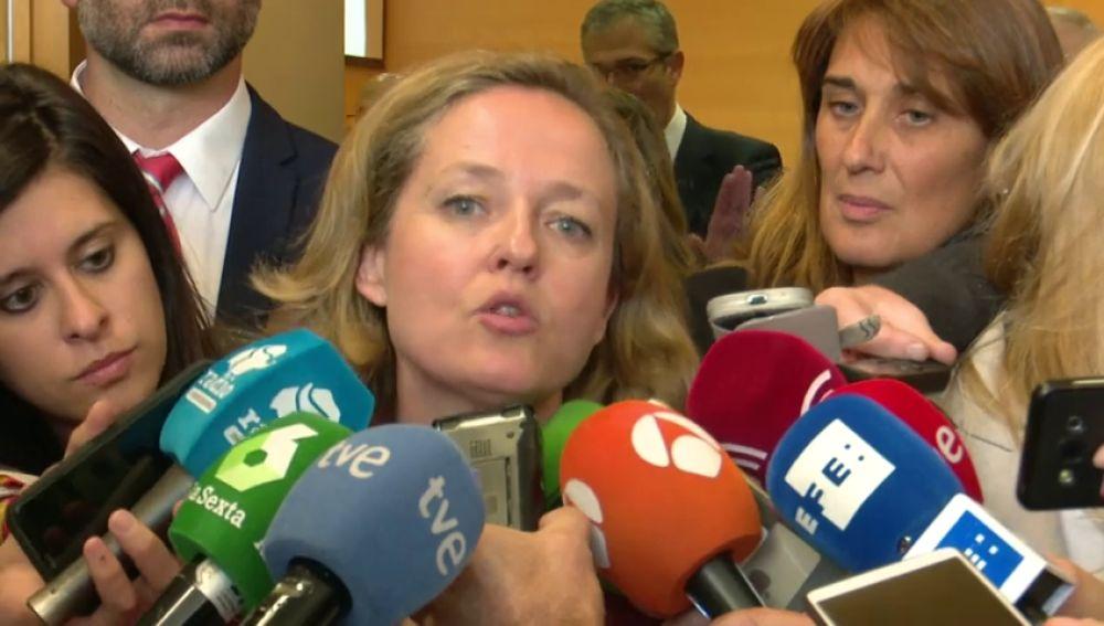 """Calviño al Banco de España: """"no se puede ahorrar si no se llega a fin de mes"""""""