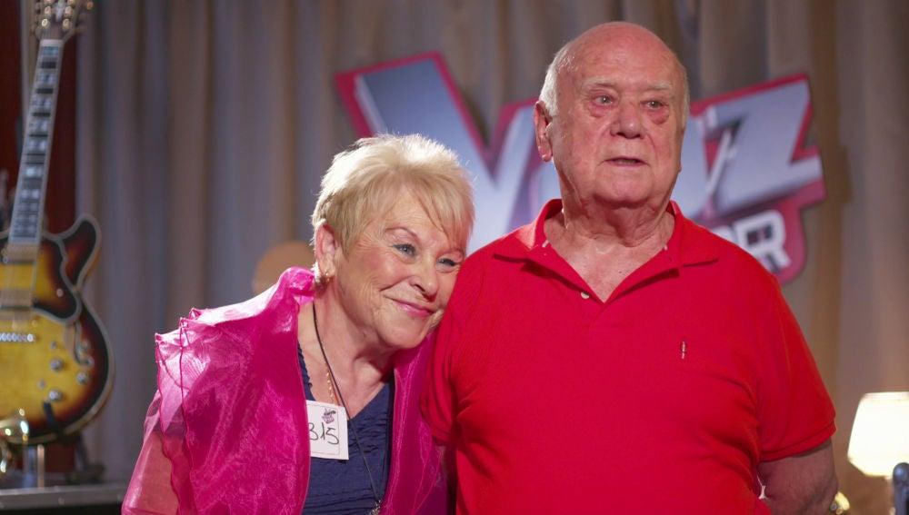 """Loli y Juan, la pareja más entrañable de 'La Voz Senior': """"Somos el uno para el otro"""""""