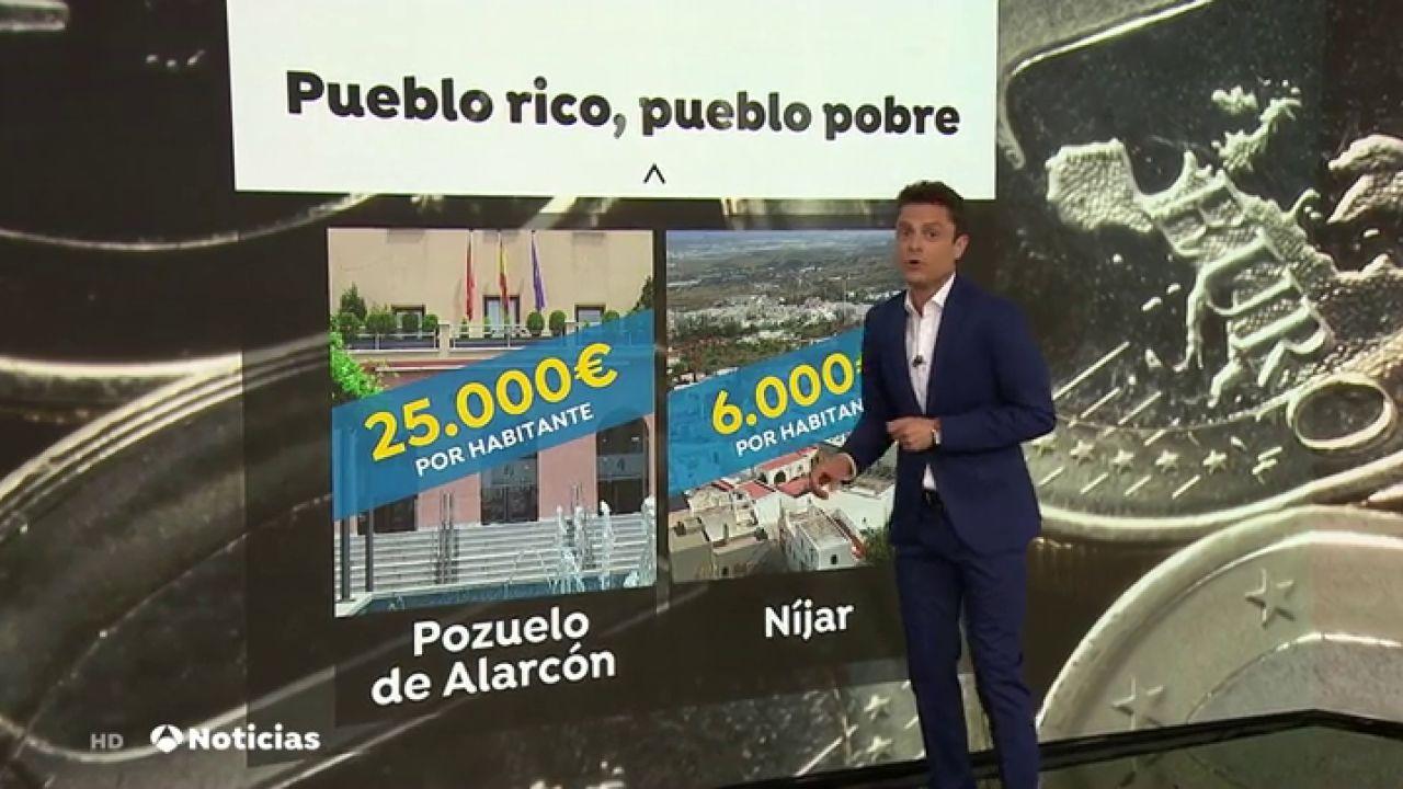 Estas Son Las Localidades Más Ricas Y Más Pobres De España
