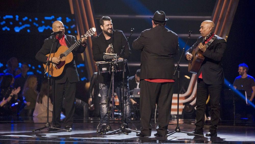 """Antonio Orozco cierra su equipo con el son cubano de Los D'Orlando: """"Ha sido un final de fiesta perfecto"""""""