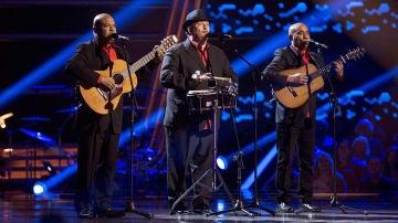 Los D'Orlando cantan 'Lágrimas negras' en las Audiciones a ciegas de 'La Voz Senior'