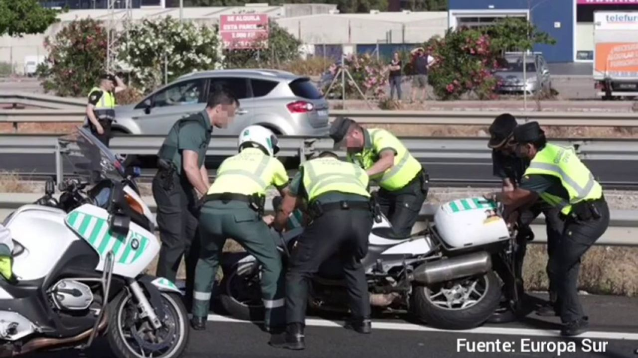 Un Guardia Civil Muere En Un Accidente Durante Una