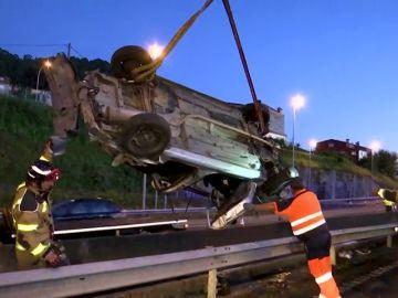 Luto por la muerte de tres jóvenes en un accidente de tráfico en Redondela