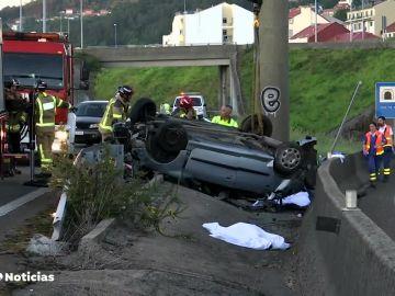 Accidente de tráfico en Redondela