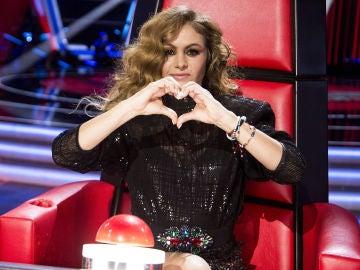 Las actuaciones del equipo de Paulina Rubio en las Audiciones a ciegas de 'La Voz Senior'