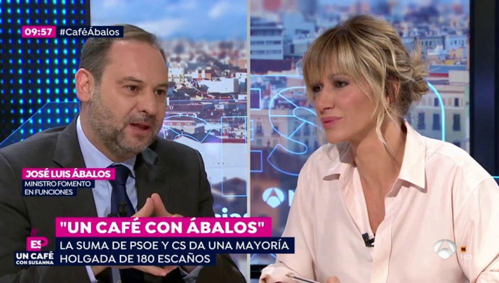 Entrevista con José Luis Ábalos.