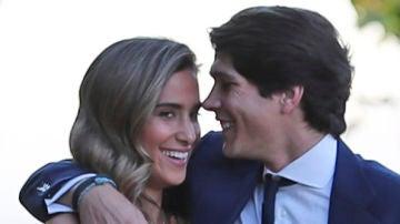 María Pombo y Pablo Castellano