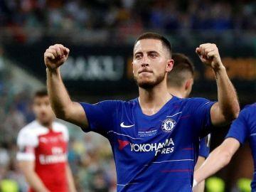 Hazard, tras ganar la Champions