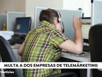 Multa de 30.000 euros a dos compañías de telemarketing por el acoso telefónico a clientes