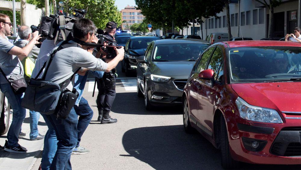 Los detenidos por la 'Operación Oikos' salen de los juzgados