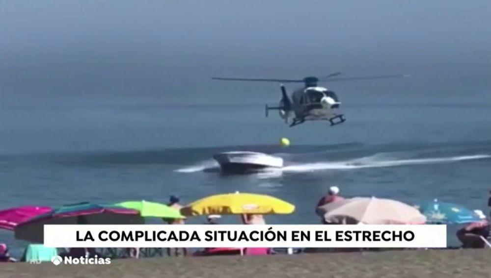 La Guardia Civil trabaja para asfixiar al narcotráfico en el Estrecho: 60 detenidos en menos de una semana