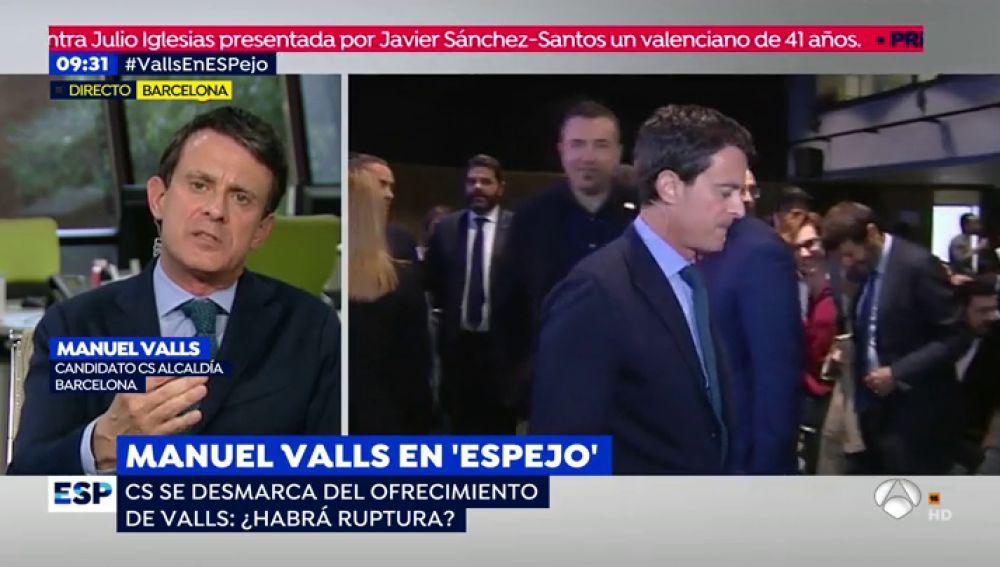 Manuel Valls en 'Espejo Público'