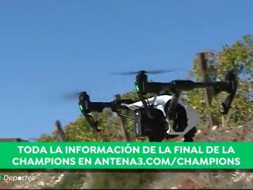 No se ha visto dispositivo igual: así es el dron 'cautivo', que se usará por primera vez en una final de Champions