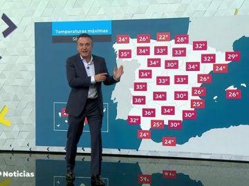 Las temperaturas subirán de cara al fin de semana en toda España