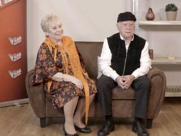 La anécdota de Loli Moreno: su marido Juan acompañó por sorpresa a su mujer en 'La Voz Senior'