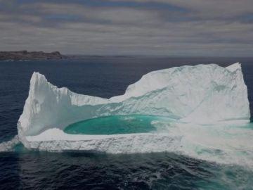 Piscina en iceberg