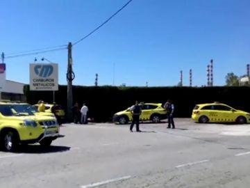 Un muerto y un herido tras un escape de amoniaco en una empresa de la Pobla de Mafumet