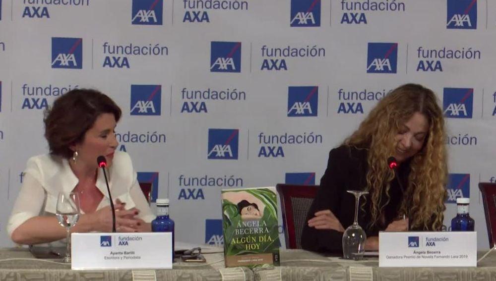 Ángela Becerra, ganadora del Premio Fernando Lara 2019
