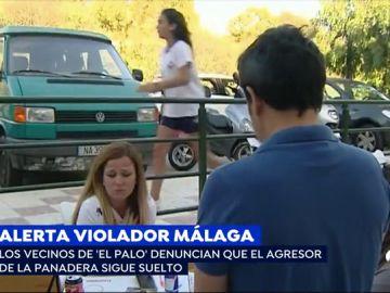 Presunto violador en Málaga.