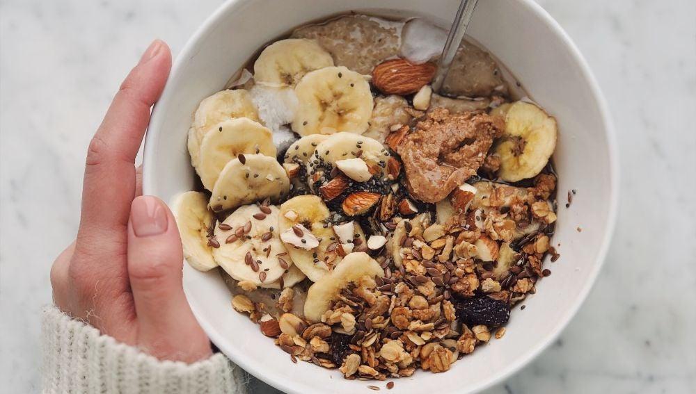 bowl de cereales