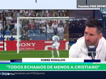 """Messi echa de menos a Cristiano: """"Hacía más importante al Madrid"""""""