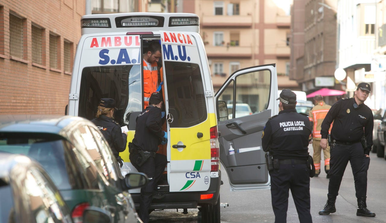 Imagen de archivo de una ambulancia en Castellón