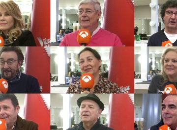 Los artistas con los que los talents de 'La Voz Senior' protagonizarían sus dúos más especiales
