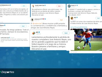 """El mundo del fútbol, desolado por muerte de José Antonio Reyes: """"Estoy destrozado"""""""