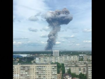 Al menos 43 personas heridas, cuatro de ellas en estado grave, por una serie de denotaciones en una fábrica de explosivos