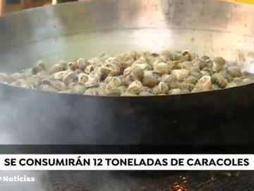 Lleida se comerá 12 toneladas de caracoles en el Aplec del Caragol