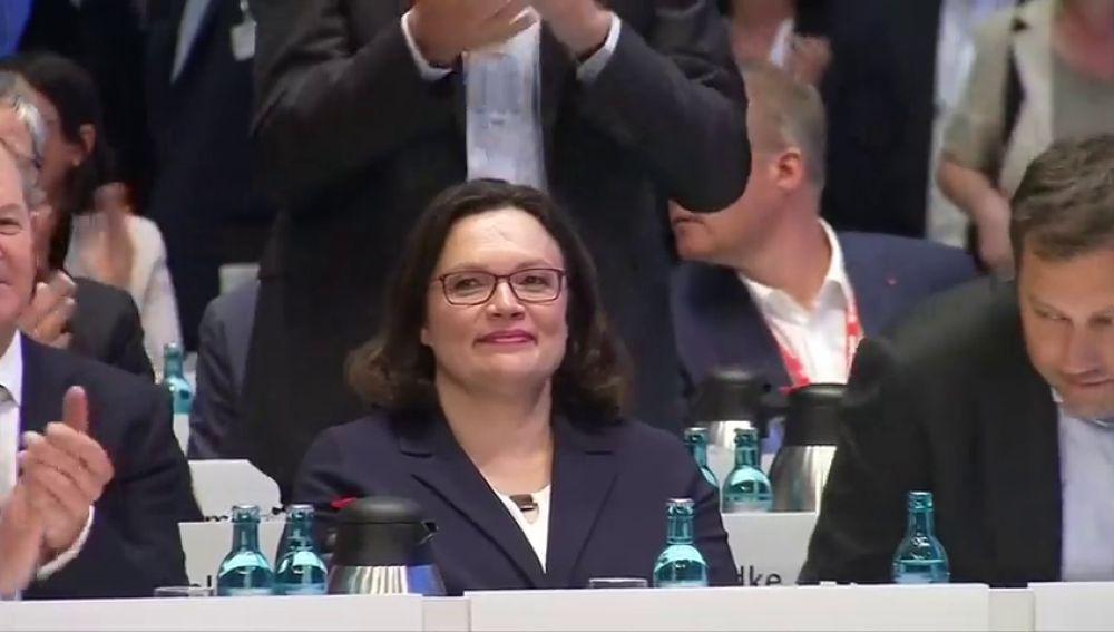 Alemania sufre una crisis política tras la dimisión de Andrea Nahles, la líder del Partido Socialdemócrata