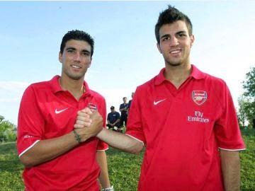 Reyes y Cesc, en el Arsenal