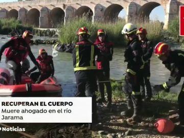 Localizado el cadáver de un bañista desaparecido en el río Jarama
