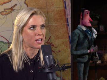 Maggie Civantos en el doblaje de 'Mr. Link'