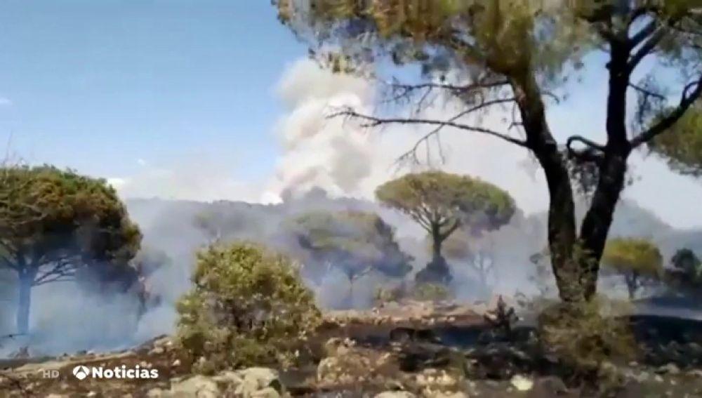 Riesgo alto de incendios: Se eleva a nivel 2 el de Hoyo de Pinares en Ávila