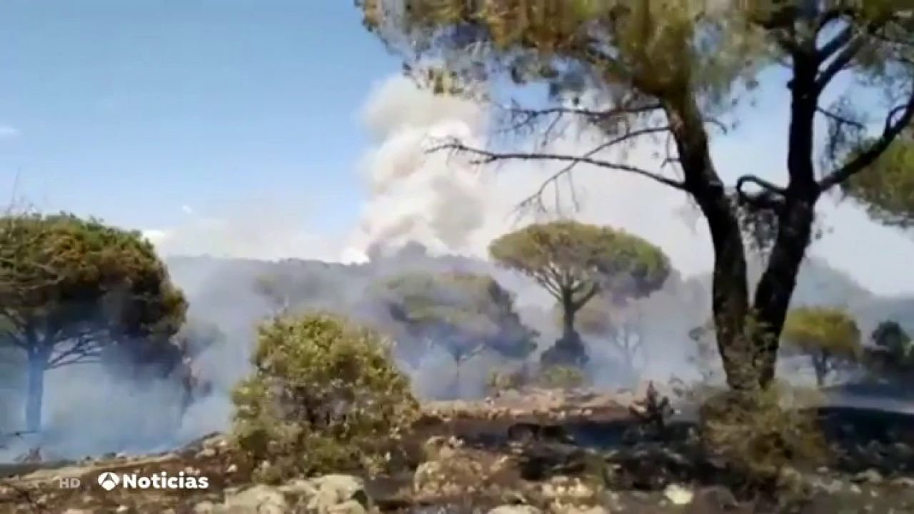 Rebajado A Nivel 1 El Incendio De El Hoyo De Pinares (Ávila