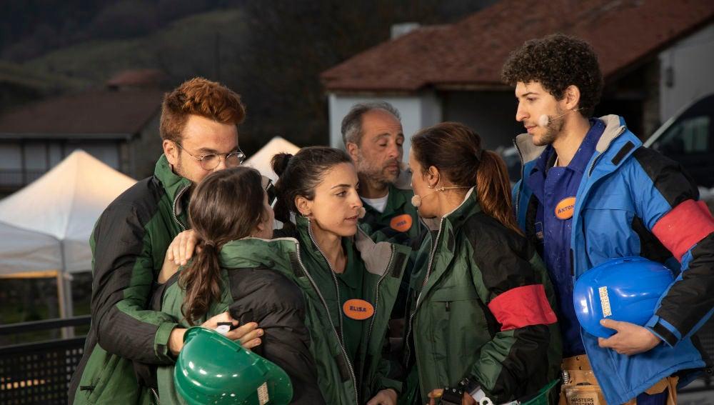 La victoria del equipo de Iratxe lleva por primera vez a la prueba de eliminación a Antonio y Elisa