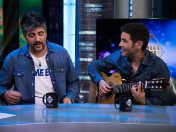 Estopa canta en 'El Hormiguero 3.0' la canción que su padre les censuró en su nuevo disco