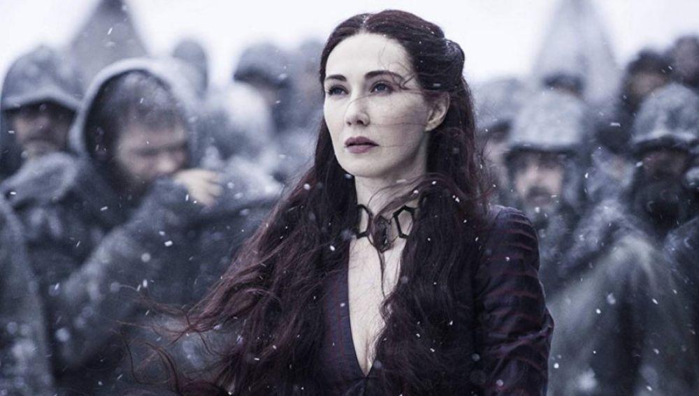 Carice van Houten, interpreta a Melisandre en 'Juego de Tronos'
