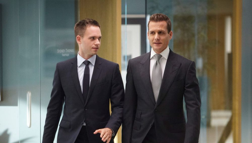Mike Ross y Harvey Specter en 'Suits'