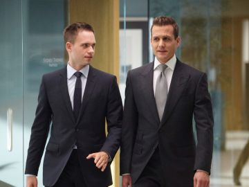 Mike Ross y Harvey Specter en 'Suits'