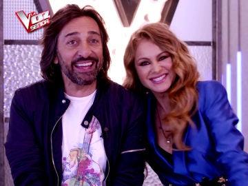 """Paulina Rubio y su asesor, Antonio Carmona: """"Cuando tengamos que despedir a un talent va a ser un horror"""""""