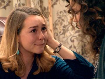 Luisita se derrumba al reencontrarse con una Amelia totalmente anulada